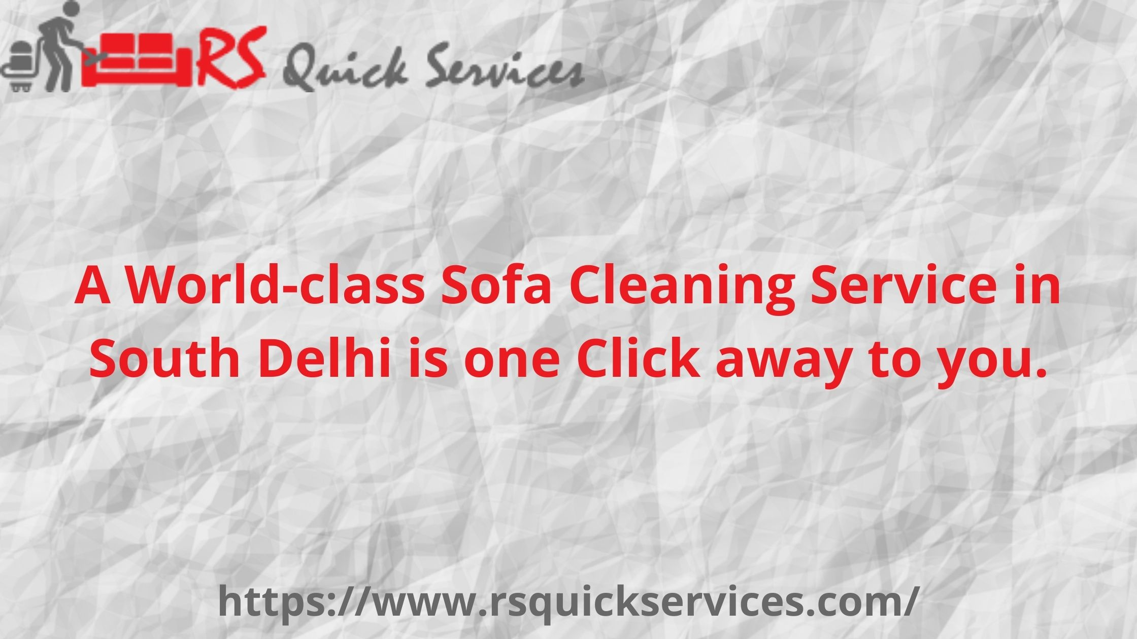 A World-class Sofa Cleaning Service in South Delhi is one Click away to you.